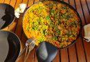 Paella – kacsamellből és tonhalból, tengeri hallal, tenger gyümölcseivel és sok minden mással
